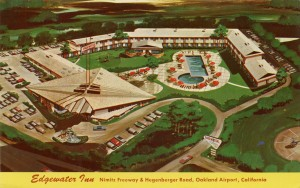 Edgewater Inn, Nimitz Freeway and Hegenberger Road, Oakland Airport, California